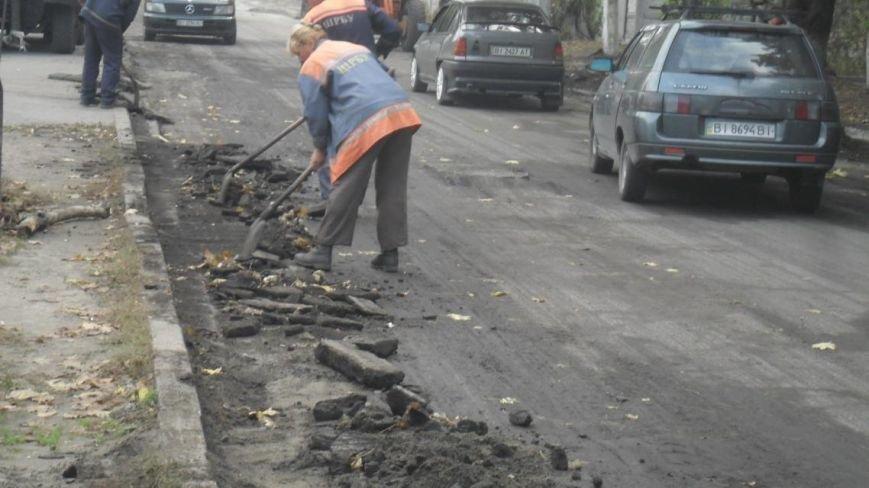 В Крюкове ремонтируют дороги: капитальный и поточный ремонт, а также грейдирование (ФОТО), фото-2