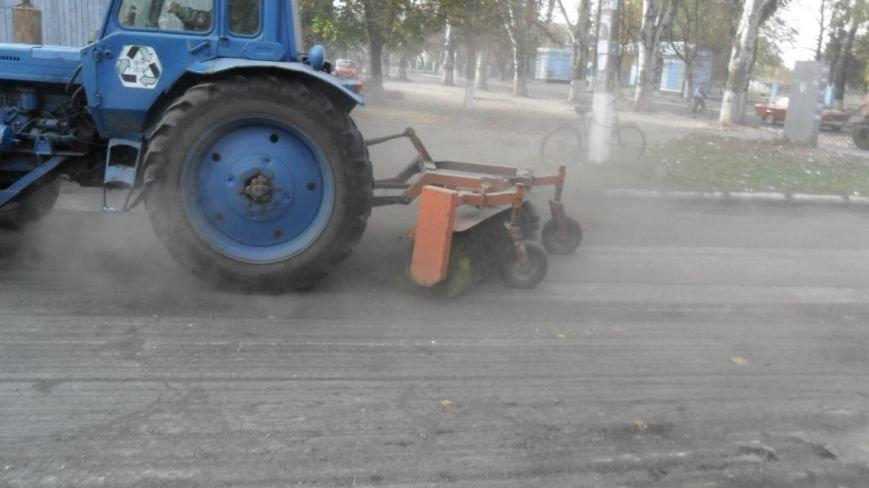 В Крюкове ремонтируют дороги: капитальный и поточный ремонт, а также грейдирование (ФОТО), фото-1