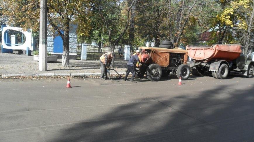 В Крюкове ремонтируют дороги: капитальный и поточный ремонт, а также грейдирование (ФОТО), фото-6