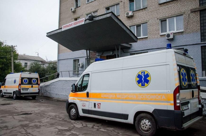 1 Дніпровська лікарня швидкої допомоги отримала гуманітарку з Франції.