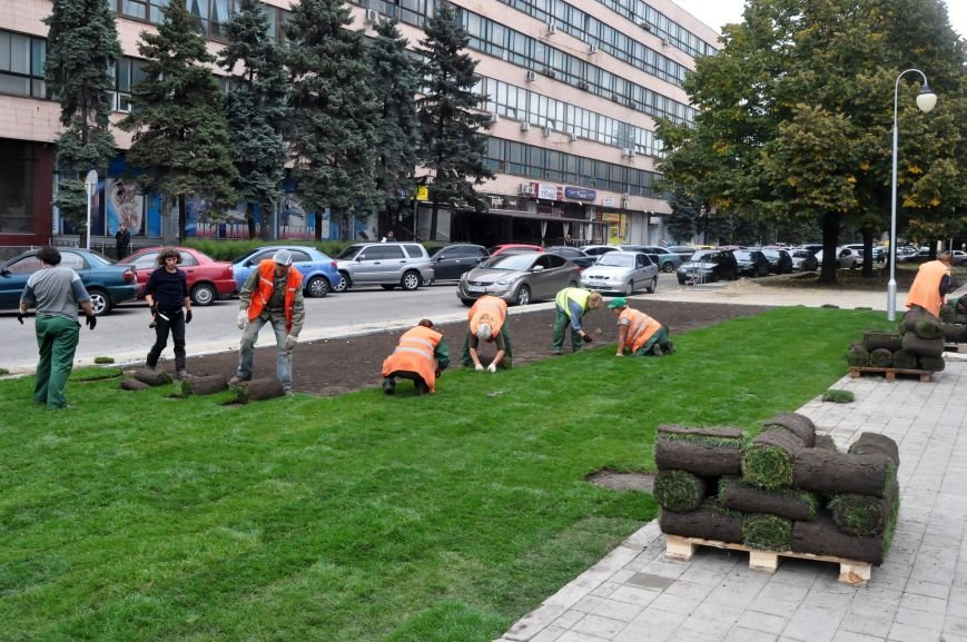 В Запорожье почти закончили реконструкцию Майдана Героев, - ФОТОРЕПОРТАЖ, фото-8