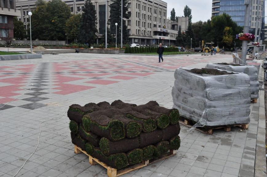 В Запорожье почти закончили реконструкцию Майдана Героев, - ФОТОРЕПОРТАЖ, фото-6