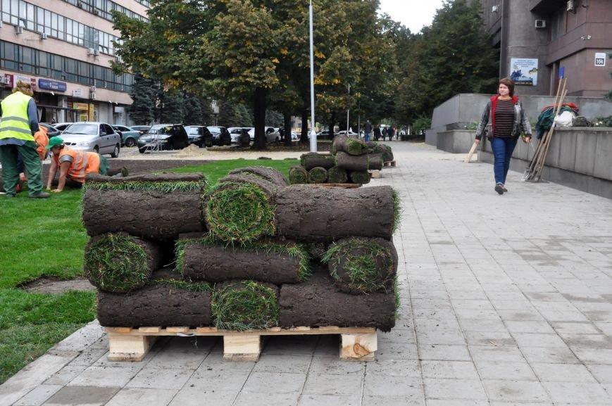 В Запорожье почти закончили реконструкцию Майдана Героев, - ФОТОРЕПОРТАЖ, фото-5