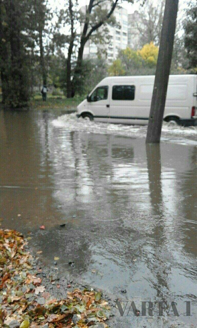 У Львові затопило вулицю Стрийську (ФОТО), фото-1