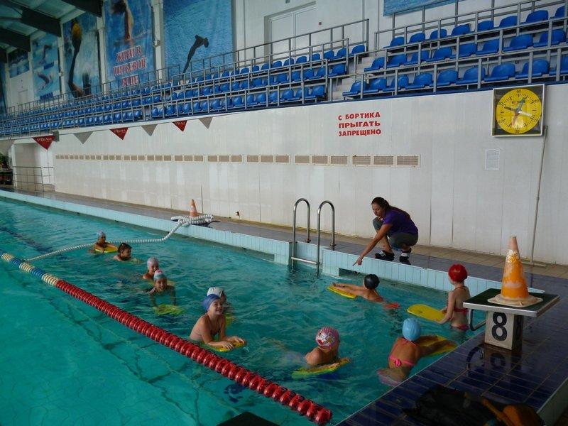 В Каменском школьников бесплатно научат плавать, фото-1