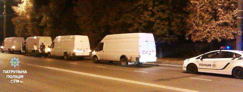 В Сумах патрульные оштрафовали сразу 4 тернопольских автомобиля, фото-1
