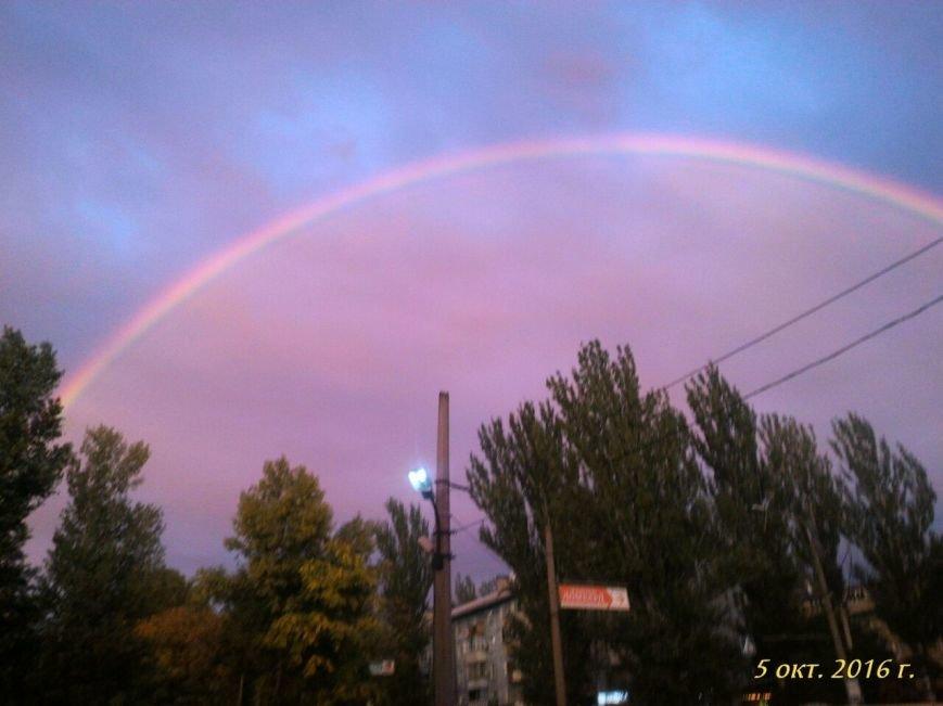 В соцсетях массово публикуют фото радуги над Запорожьем, фото-7