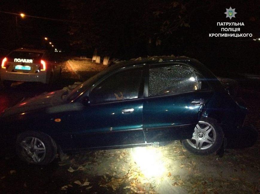 Убегая от патрульных водитель разбил автомобиль об дерево (ФОТО), фото-4
