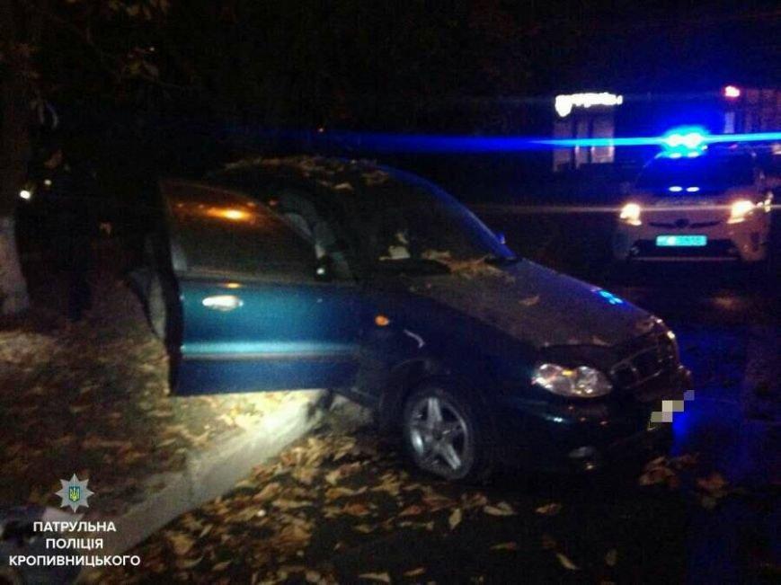 Убегая от патрульных водитель разбил автомобиль об дерево (ФОТО), фото-2
