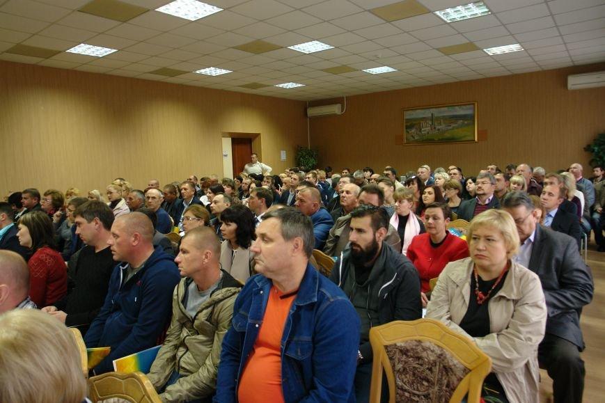 В Покровске (Красноармейске) прошла мини-конференция посвященная проблемам сельского малого и среднего бизнеса, фото-1