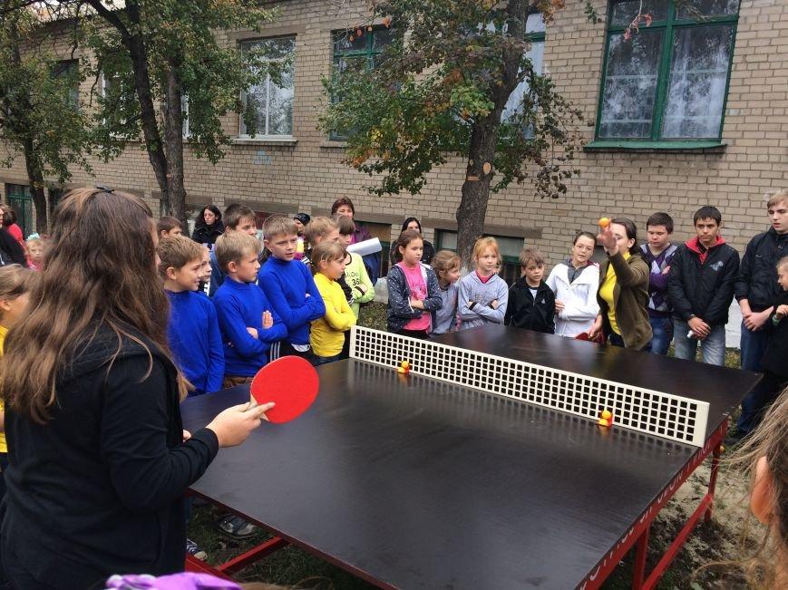 Отпраздновали открытие новой спортивной площадки от «Фонда Кличко», фото-4