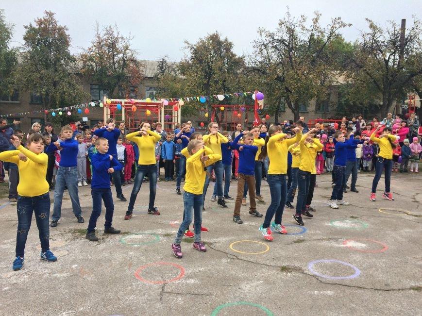 Отпраздновали открытие новой спортивной площадки от «Фонда Кличко», фото-3