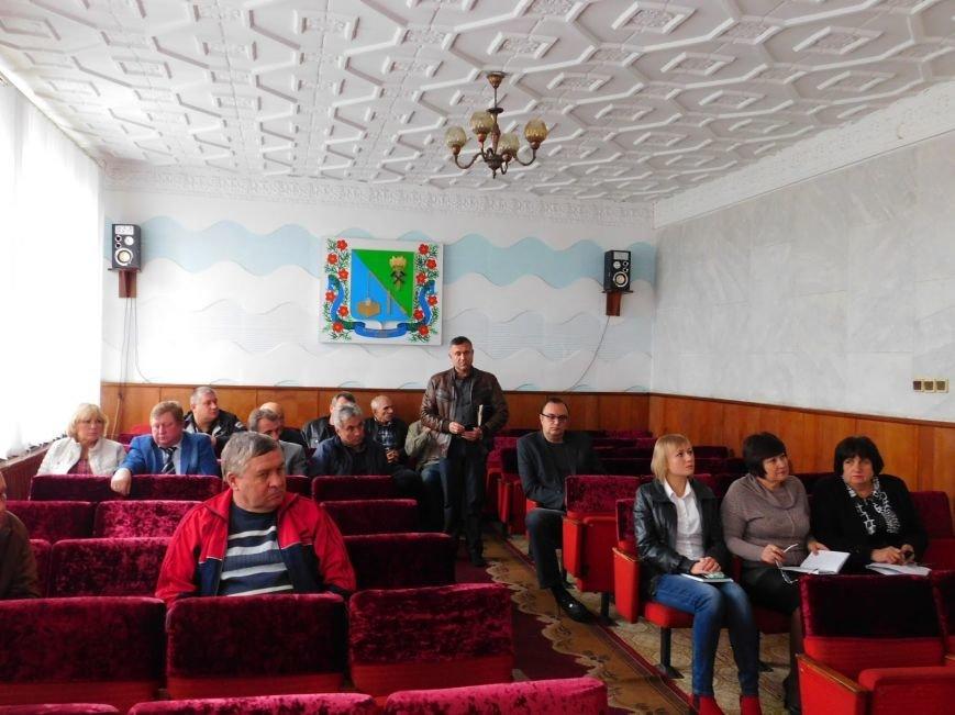 В Доброполье прошла встреча с депутатами районного совета, фото-1