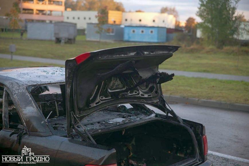 В Гродно во время движения загорелась Ауди A6, фото-9