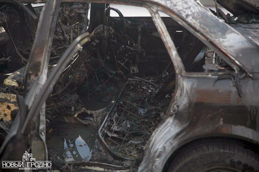 В Гродно во время движения загорелась Ауди A6, фото-8