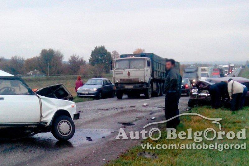 ВБелгородской области при столкновении легковых авто ифуры погибли два водителя