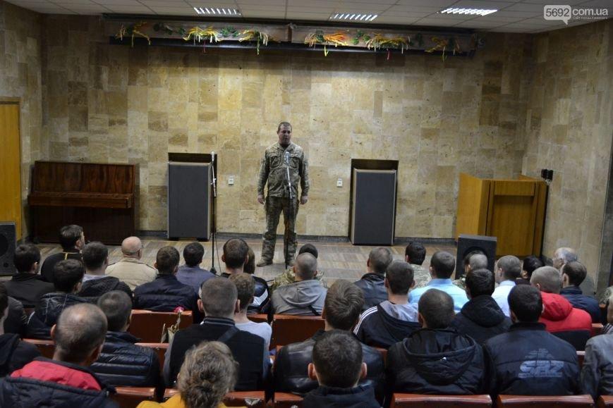 Каменских призывников провели на службу в армию, фото-2