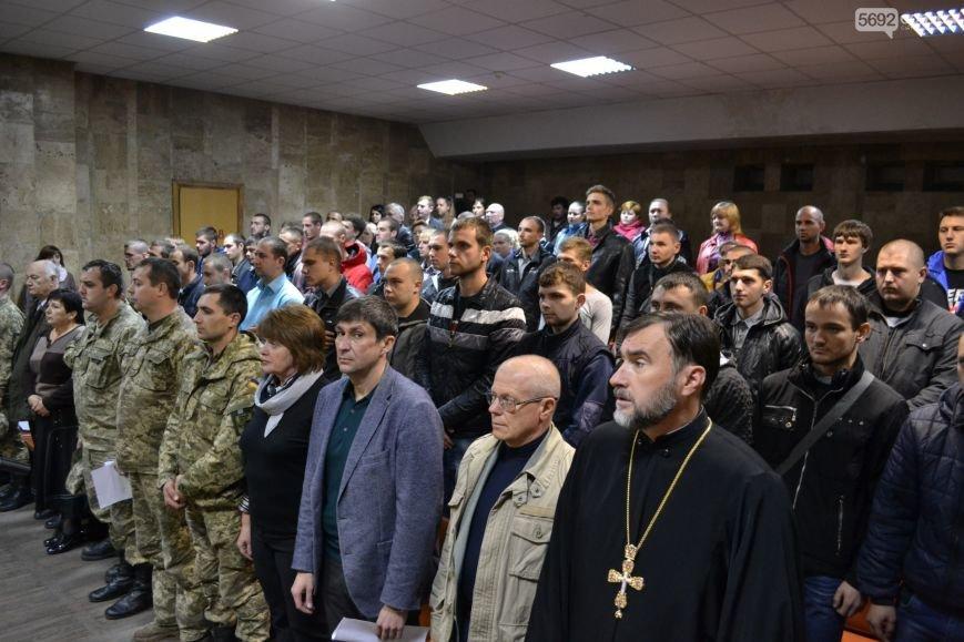 Каменских призывников провели на службу в армию, фото-1