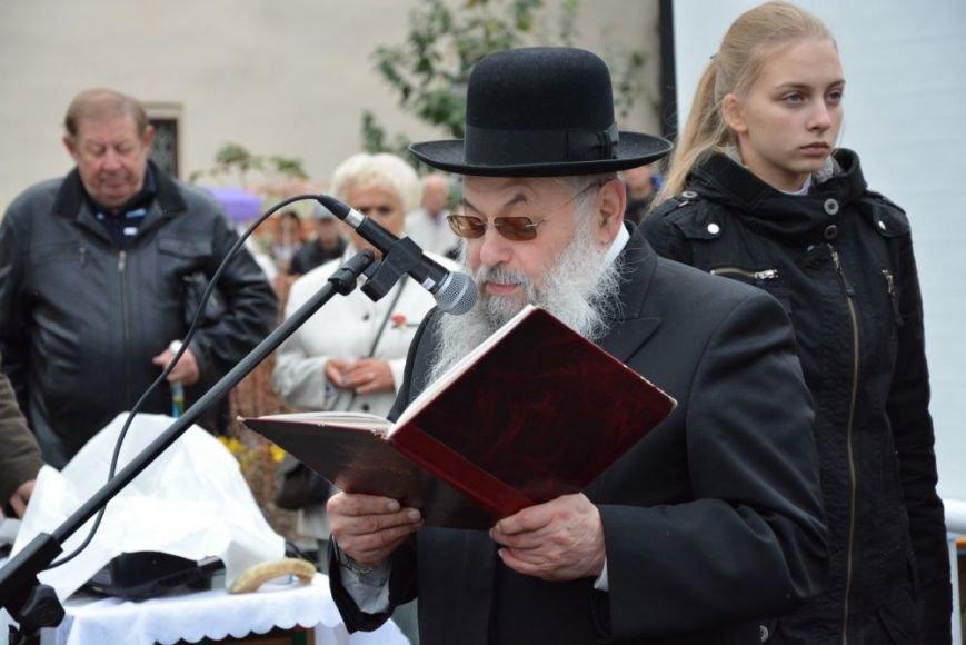 У Чернівцях відкрили пам'ятник євреям, які загинули під час гето 1941 роre, фото-3