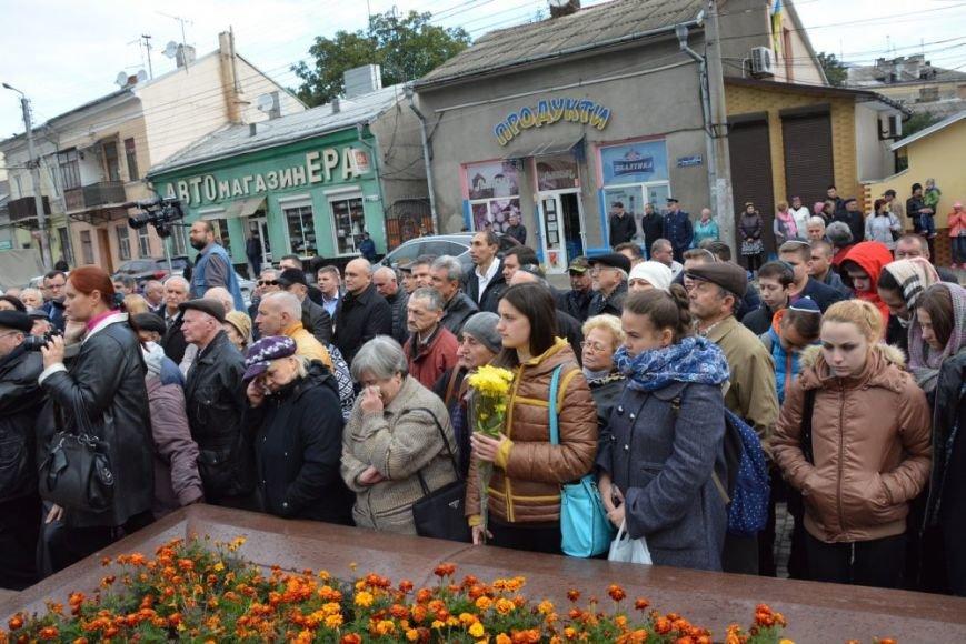 У Чернівцях відкрили пам'ятник євреям, які загинули під час гето 1941 роre, фото-1