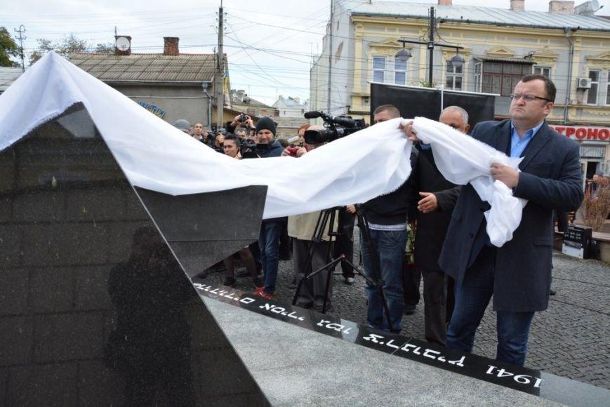 У Чернівцях відкрили пам'ятник євреям, які загинули під час гето 1941 роre, фото-5