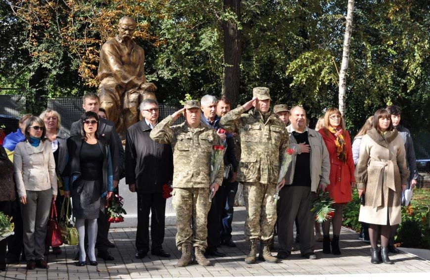 В Запорожье открыли мемориальную доску погибшим воинам 55-й артбригады, - ФОТО, фото-1