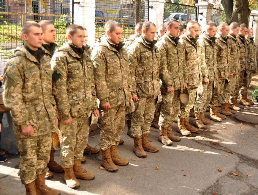В Запорожье открыли мемориальную доску погибшим воинам 55-й артбригады, - ФОТО, фото-3