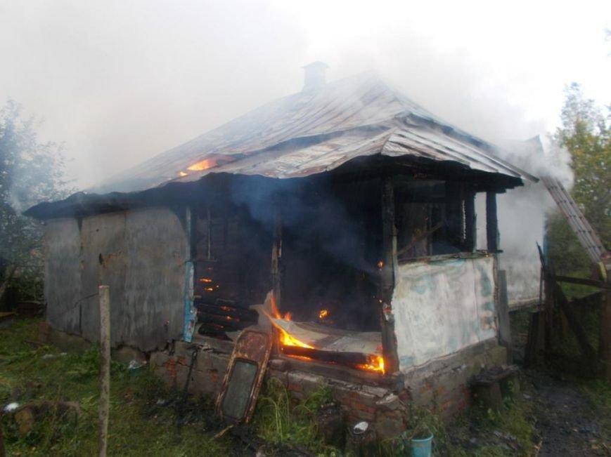 Во время пожара в жилом доме на Черниговщине погиб 78-летний хозяин, фото-1