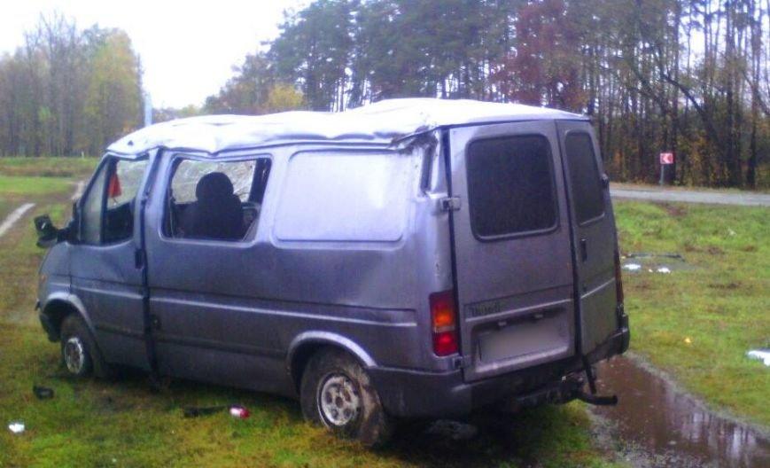 Под Харьковом перевернулся микроавтобус: есть погибшие (ФОТО), фото-1