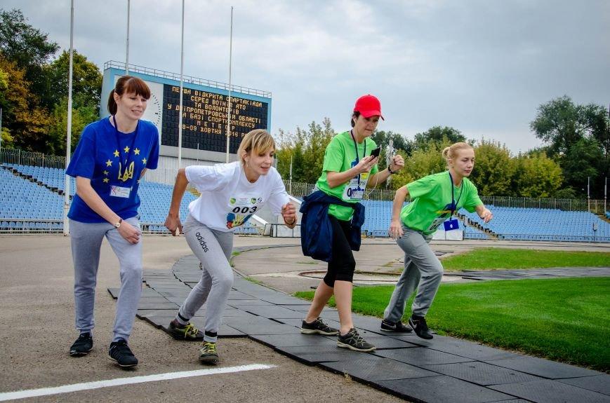 200 бойцов АТО, волонтеров и их детей соревновались в первой Всеукраинской спартакиаде на Днепропетровщине (ФОТО), фото-4