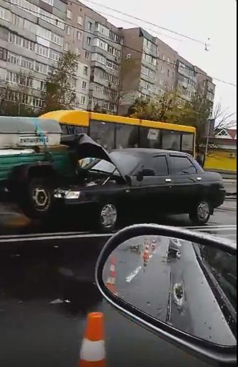 В Сумах ДТП: столкнулись 4 автомобиля (ФОТО), фото-4