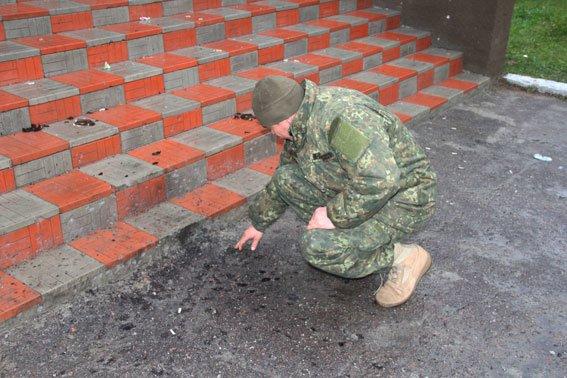 В Черниговской области около сельского клуба взорвалась граната, фото-1