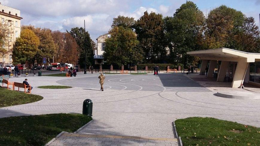 Зруйнована площа поблизу львівського цирку набула оновленого вигляду: що змінилось (ФОТО), фото-5