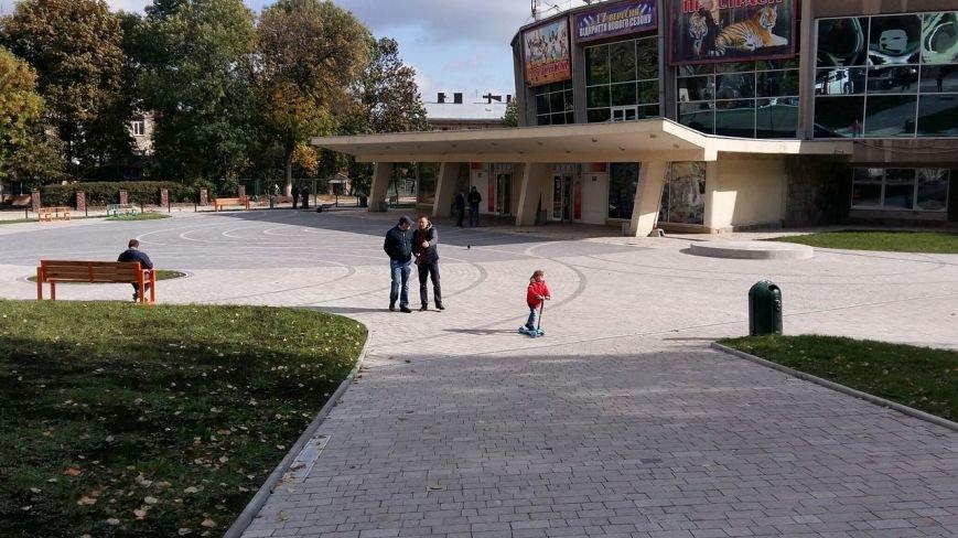 Зруйнована площа поблизу львівського цирку набула оновленого вигляду: що змінилось (ФОТО), фото-3