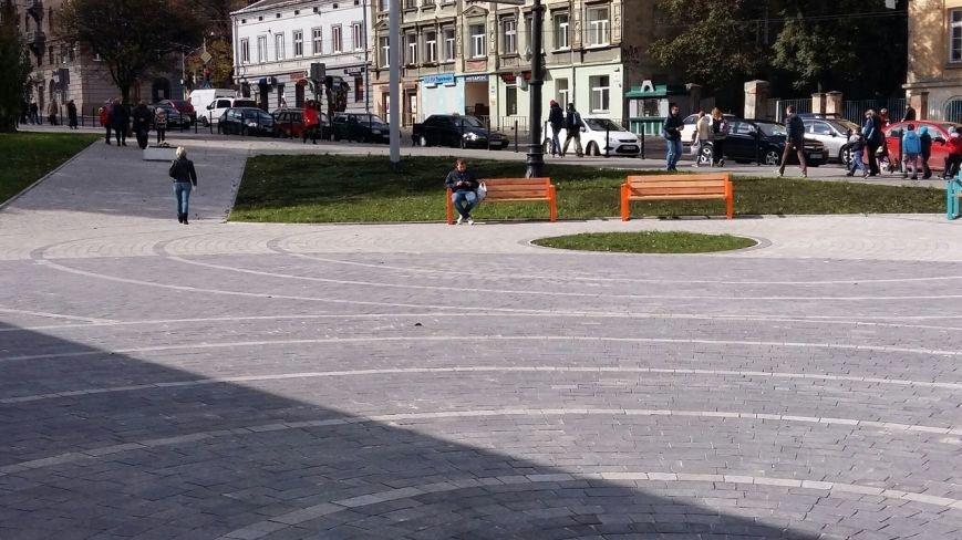Зруйнована площа поблизу львівського цирку набула оновленого вигляду: що змінилось (ФОТО), фото-2