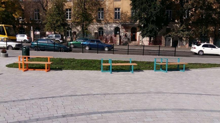 Зруйнована площа поблизу львівського цирку набула оновленого вигляду: що змінилось (ФОТО), фото-4