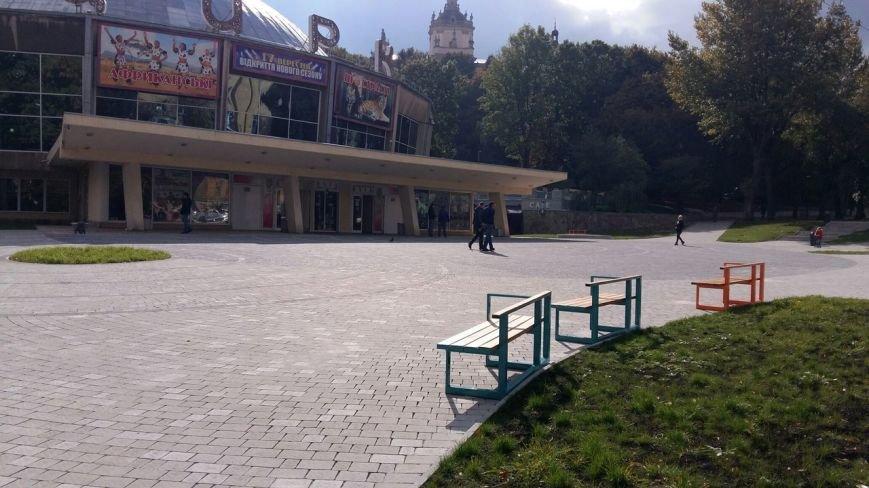 Зруйнована площа поблизу львівського цирку набула оновленого вигляду: що змінилось (ФОТО), фото-8