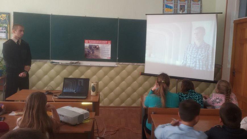 Спасатели Доброполья провели беседу со школьниками (ФОТО), фото-5