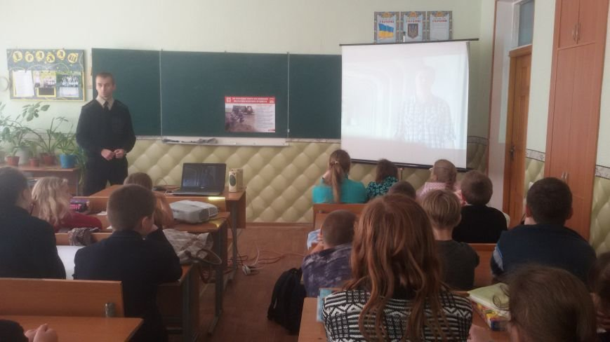 Спасатели Доброполья провели беседу со школьниками (ФОТО), фото-6