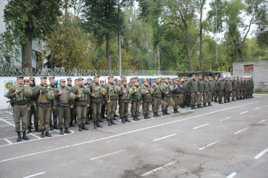 В Кременчуг из зоны АТО вернулись бойцы Национальной гвардии Украины (фото и видео), фото-3