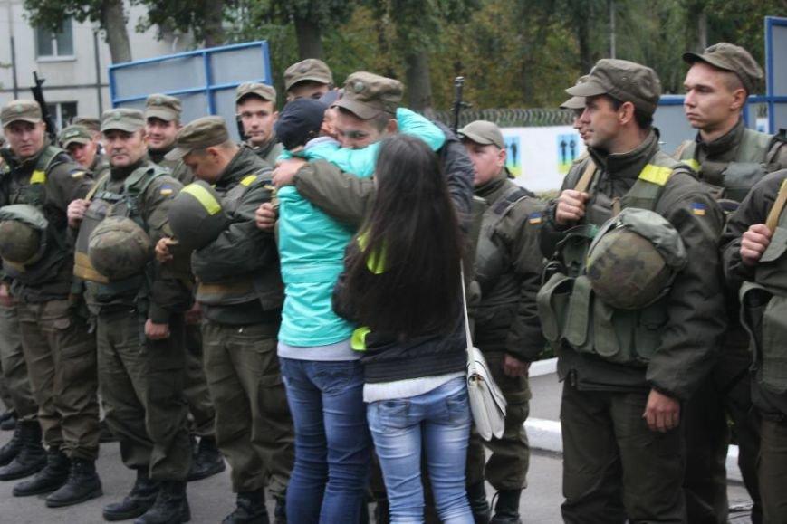 В Кременчуг из зоны АТО вернулись бойцы Национальной гвардии Украины (фото и видео), фото-1