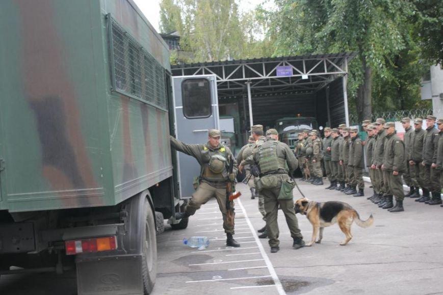 В Кременчуг из зоны АТО вернулись бойцы Национальной гвардии Украины (фото и видео), фото-7