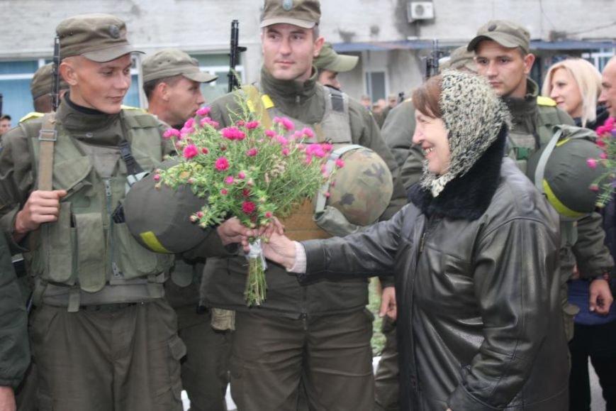 В Кременчуг из зоны АТО вернулись бойцы Национальной гвардии Украины (фото и видео), фото-2