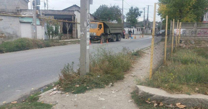 В Симферополе КамАЗ насмерть сбил бездомную пенсионерку (ФОТО, обновлено), фото-1