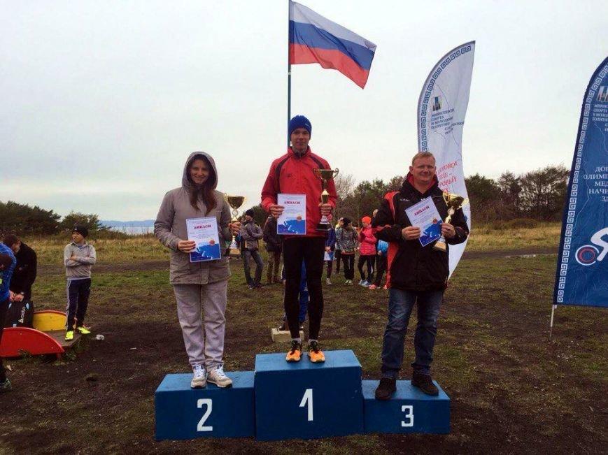 В Корсакове прошел чемпионат по легкоатлетическому кроссу, фото-1
