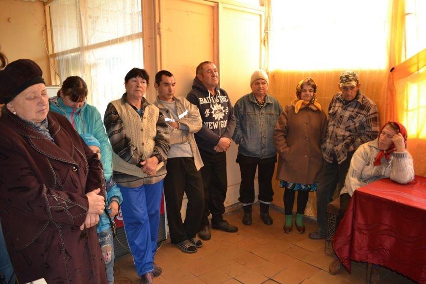 Представители добропольской РГА провели прием граждан в Матяшево, фото-1