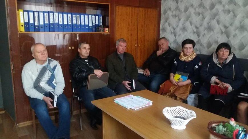 В Мирнограде (Димитрове) продолжается подготовка к Дню защитника Украины, фото-1