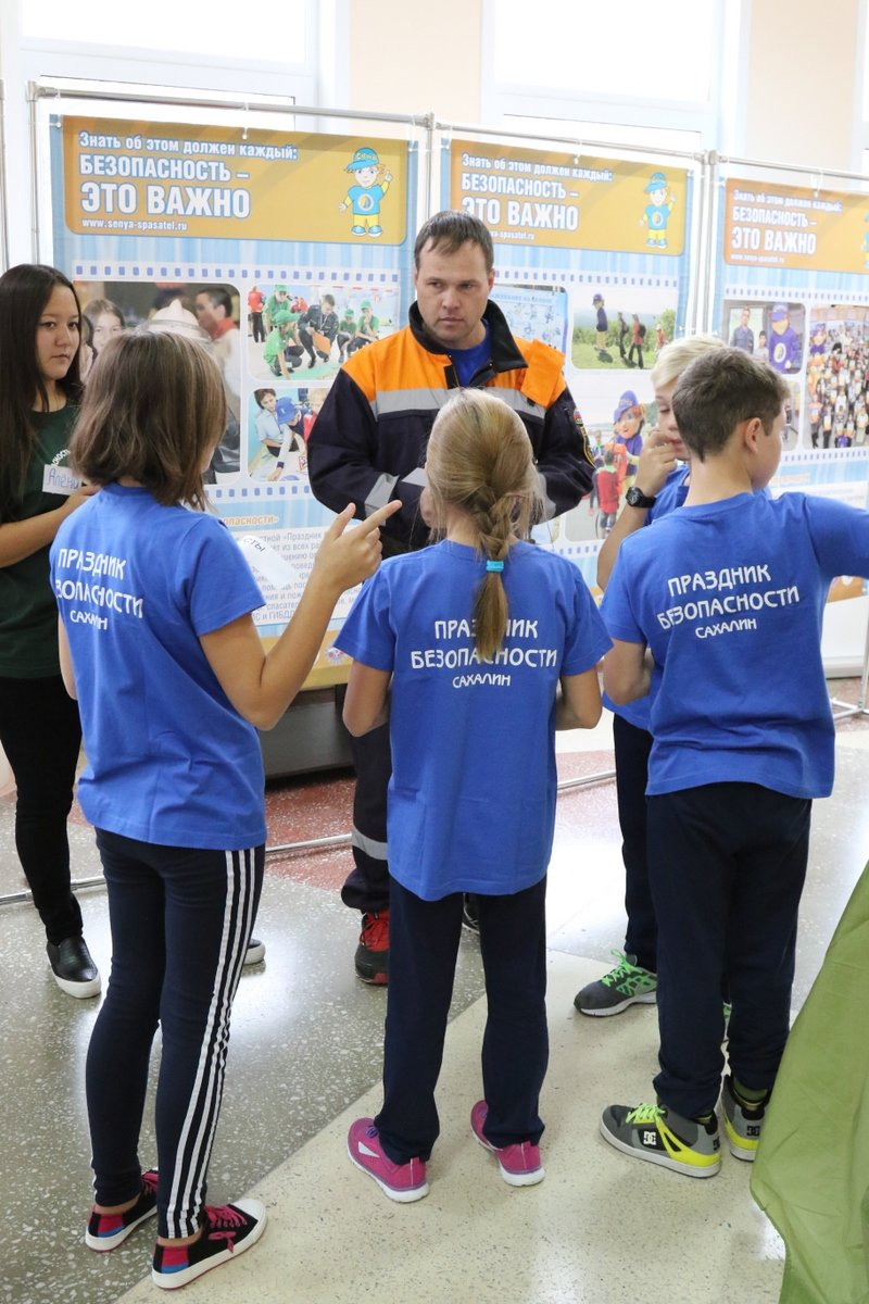 Школьники из пятнадцати районов приехали в Южно-Сахалинск на «Праздник безопасности», фото-7