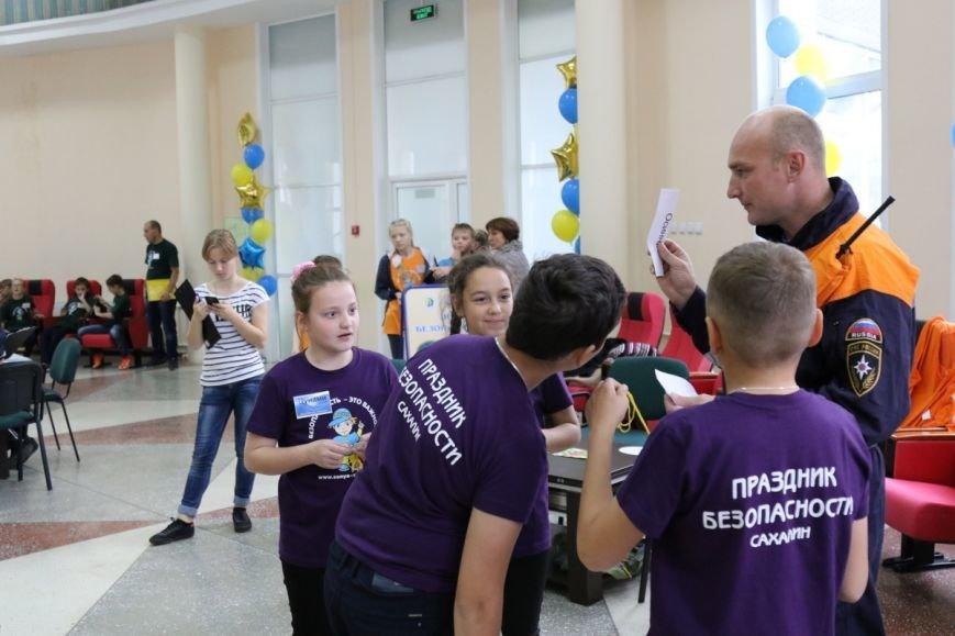 Школьники из пятнадцати районов приехали в Южно-Сахалинск на «Праздник безопасности», фото-3