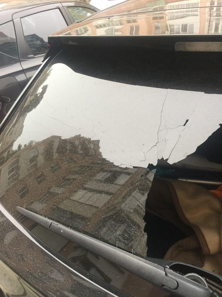 У Львові пограбували автомобіль громадської активістки Наталії Шелестак (ФОТО), фото-1
